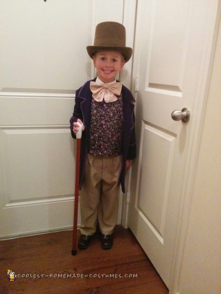 Scrumdiddlyumptious Willy Wonka Costume