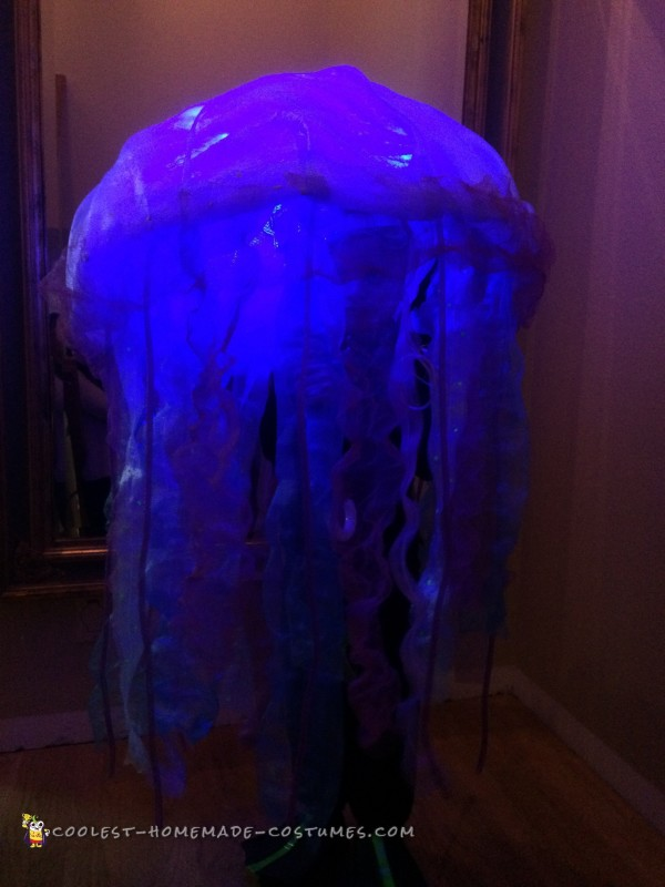 Scuba Diver Trapped by a Jellyfish Costume