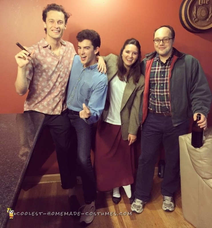 Cool Seinfeld Group Costume - 1