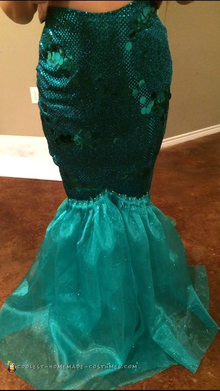 Pretty Sequin Mermaid Costume - 3