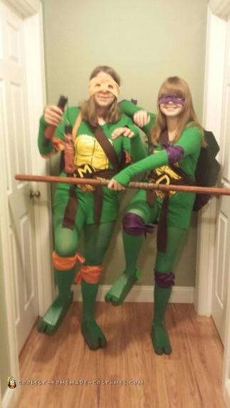 Shell Shocking Michaelangelo and Donatello Costumes