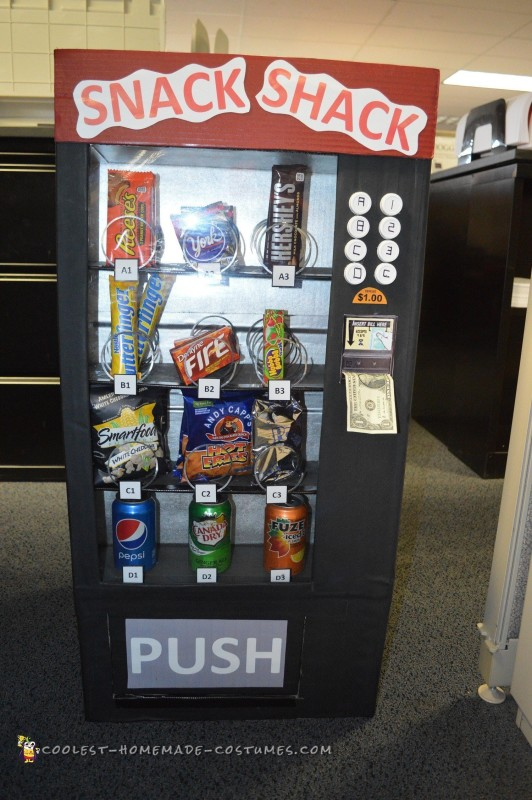 Snack Shack Vending Machine Costume
