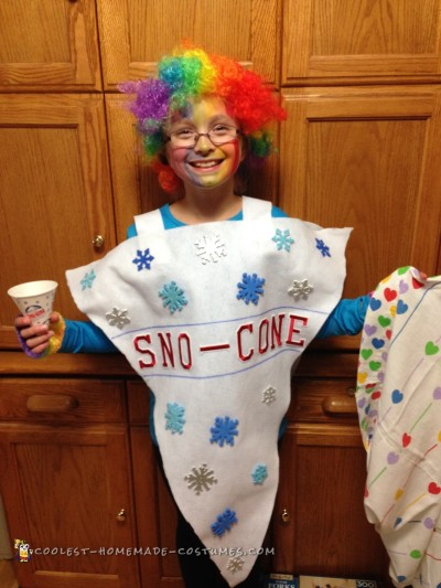 Cute Sno-Cone Costume