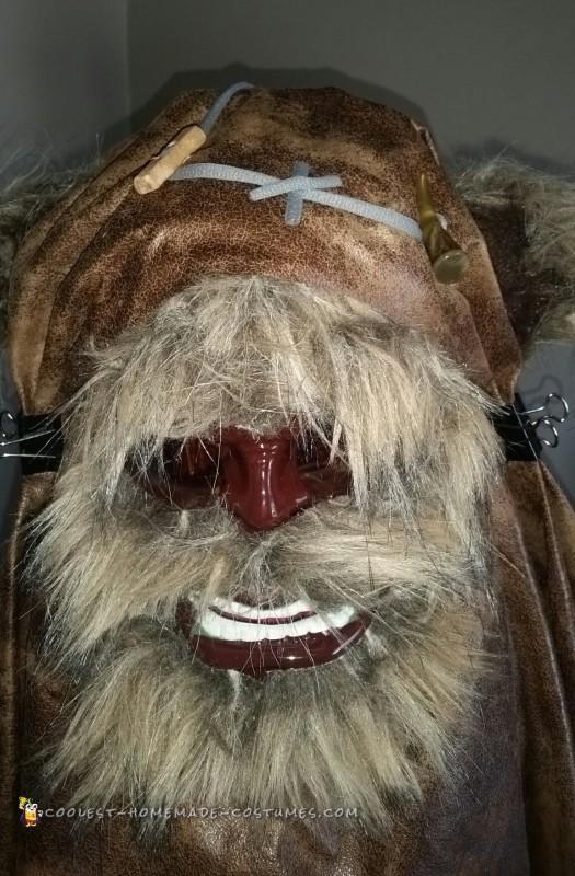 Homemade Star Wars Ewok Costume - 2