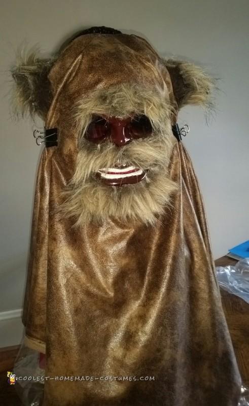 Homemade Star Wars Ewok Costume - 3