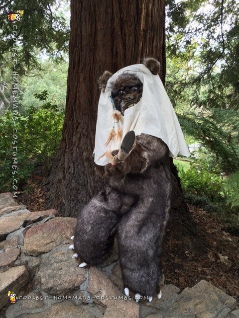 Star Wars Ewok Costume from Moon of Endor - 2