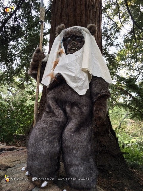 Star Wars Ewok Costume from Moon of Endor - 3