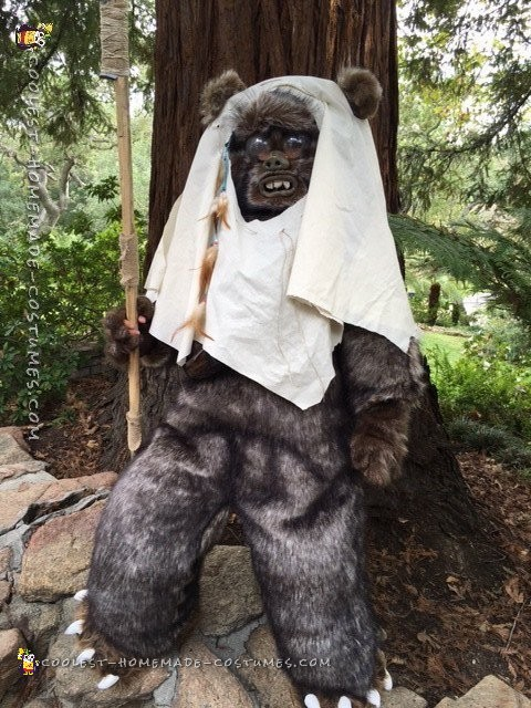 Star Wars Ewok Costume from Moon of Endor - 4