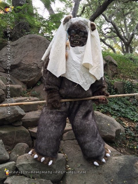 Star Wars Ewok Costume from Moon of Endor - 5
