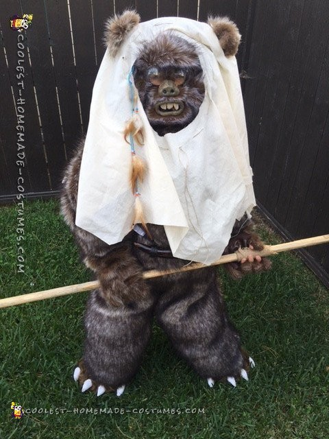 Star Wars Ewok Costume from Moon of Endor - 7