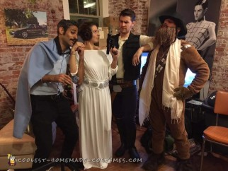 Star Wars Group Costume: Kickin' it in Cloud City