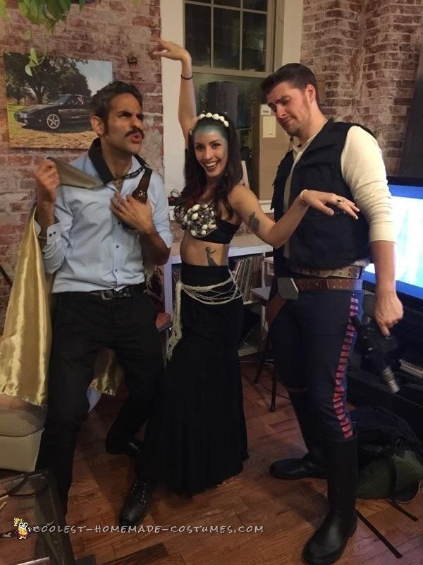 Star Wars Group Costume: Kickin' it in Cloud City