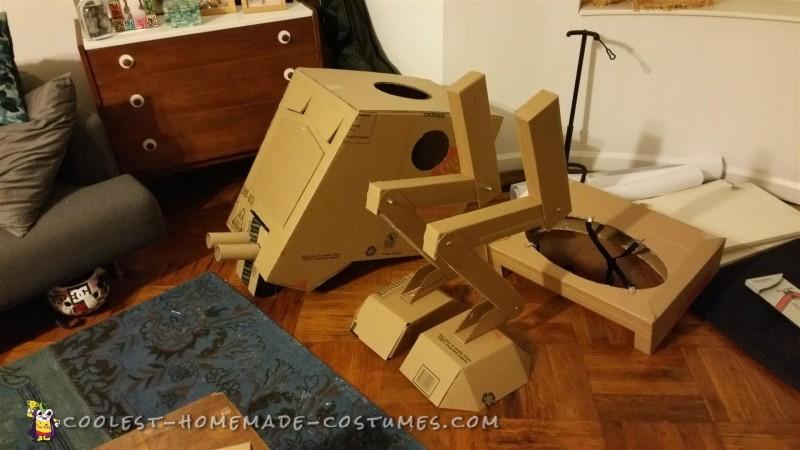Cardboard bodayparts