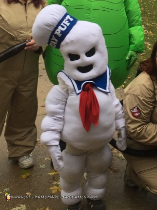 Stay Puft (Mini) Marshmallow Man Costume