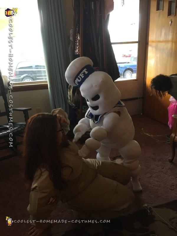 Stay Puft (Mini) Marshmallow Man Costume - 1