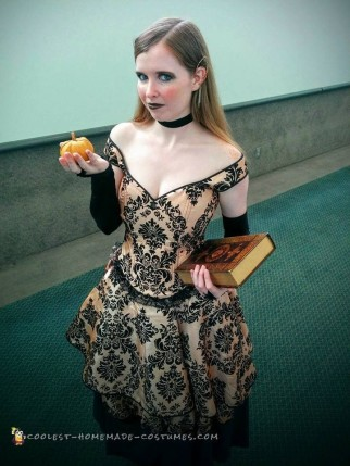 Steampunk Inspired Pumpkin Queen Costume