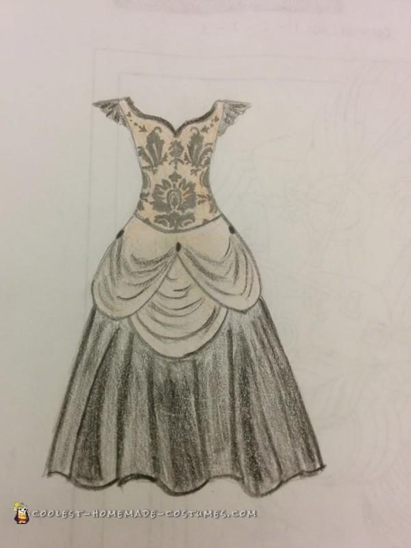 Steampunk Inspired Pumpkin Queen Costume