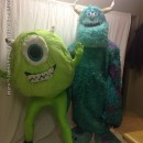 Sully and Mike Couple Costume