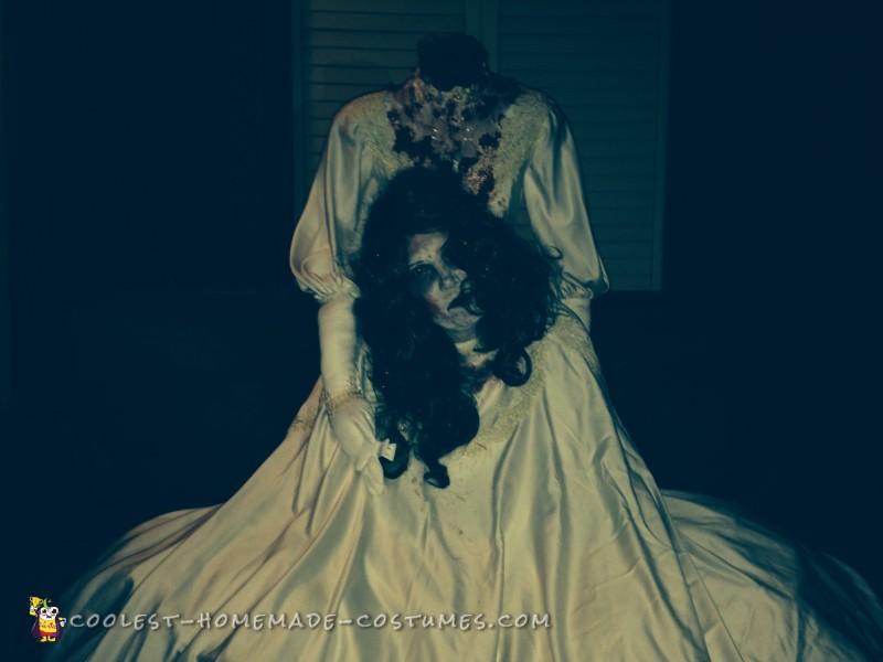Super Simple Headless Bride Costume