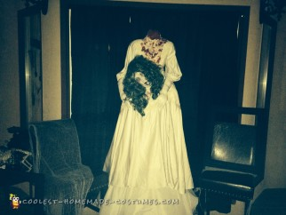 Super Simple Headless Bride Costume