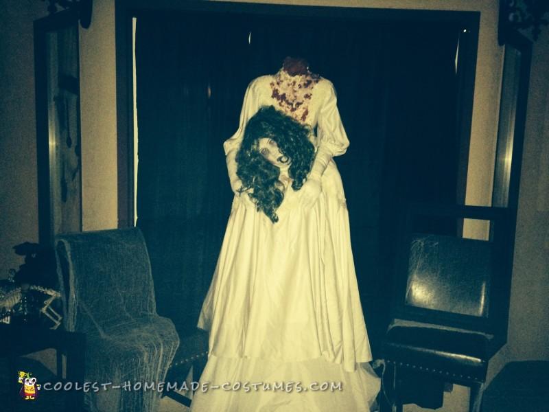 Super Simple Headless Bride Costume - 1