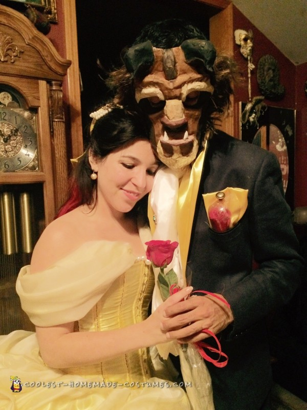 Tale as Old as Time – Beauty and the Beast Couple Costume