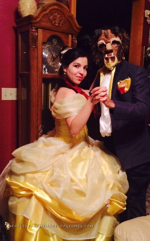 Tale as Old as Time – Beauty and the Beast Couple Costume - 1