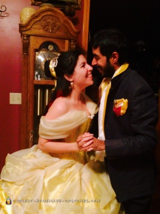 Tale as Old as Time - Beauty and the Beast Couple Costume