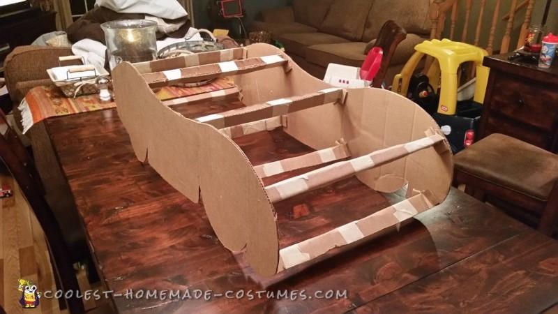 Cardboard Frame w/Supports