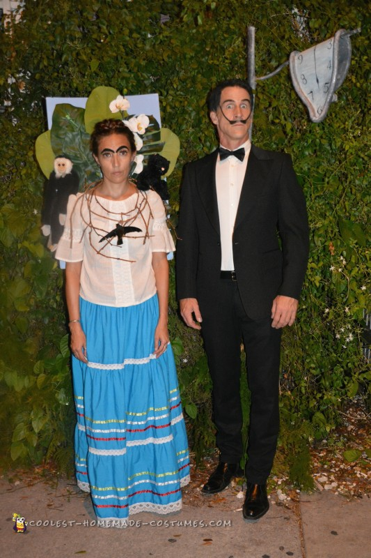 The Artists - Frida Kahlo and Salvador Dali Couple Costume