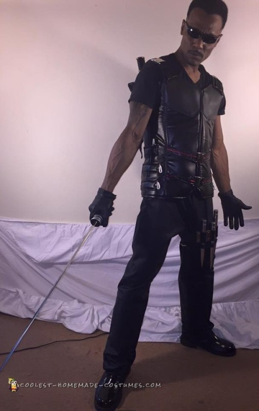 Blade the Daywalker Costume - Baddest Vampire Hunter Around
