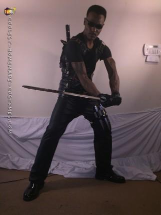 Blade the Daywalker Costume - Baddest Vampire Hunter Around