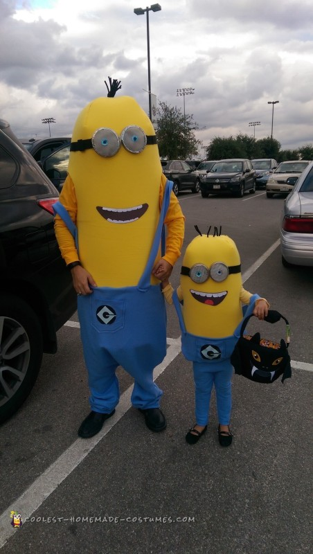 Dad and Daughter Minion