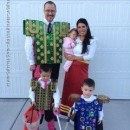 The Book of Life Family Costumes