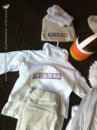 The Color Run Costumes for Poor/Lazy Families
