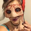 """Creepy Costume Idea: The Final """"Mascaraed"""""""