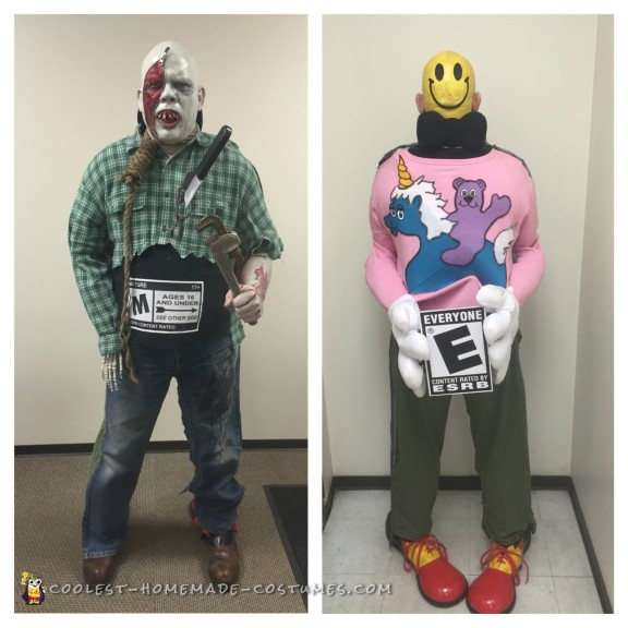 Cool Smiley vs. Evil Costume