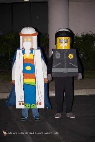 The Lego Movie Mini Figures Costumes
