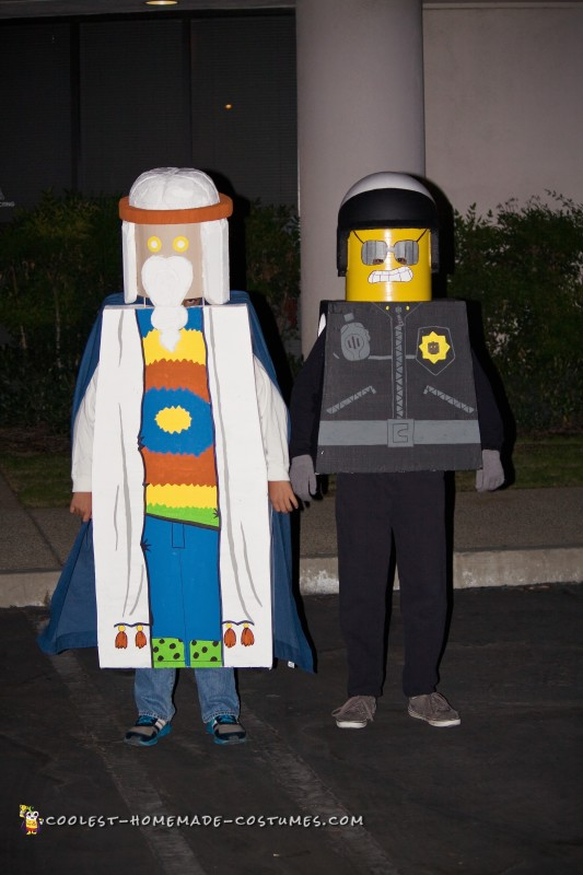 Vitruvius and Bad Cop from The Lego Movie