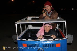 The Libyans from Back to the Future in Their Van