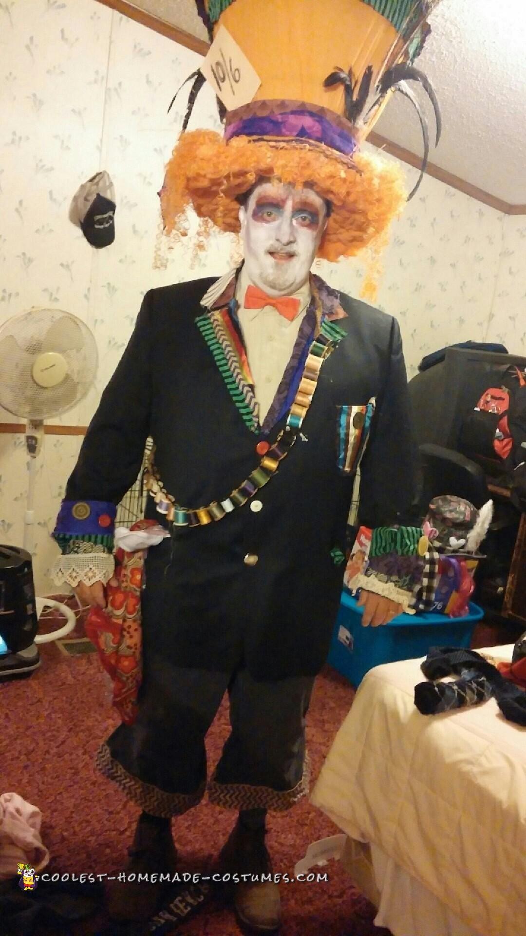 Contest-Winning Mad Hatter Costume