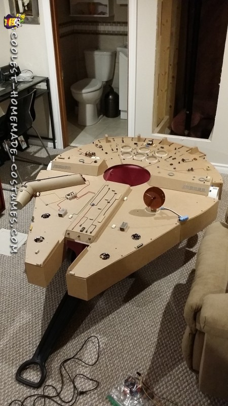The Millennium Falcon T2X-Wagon Version
