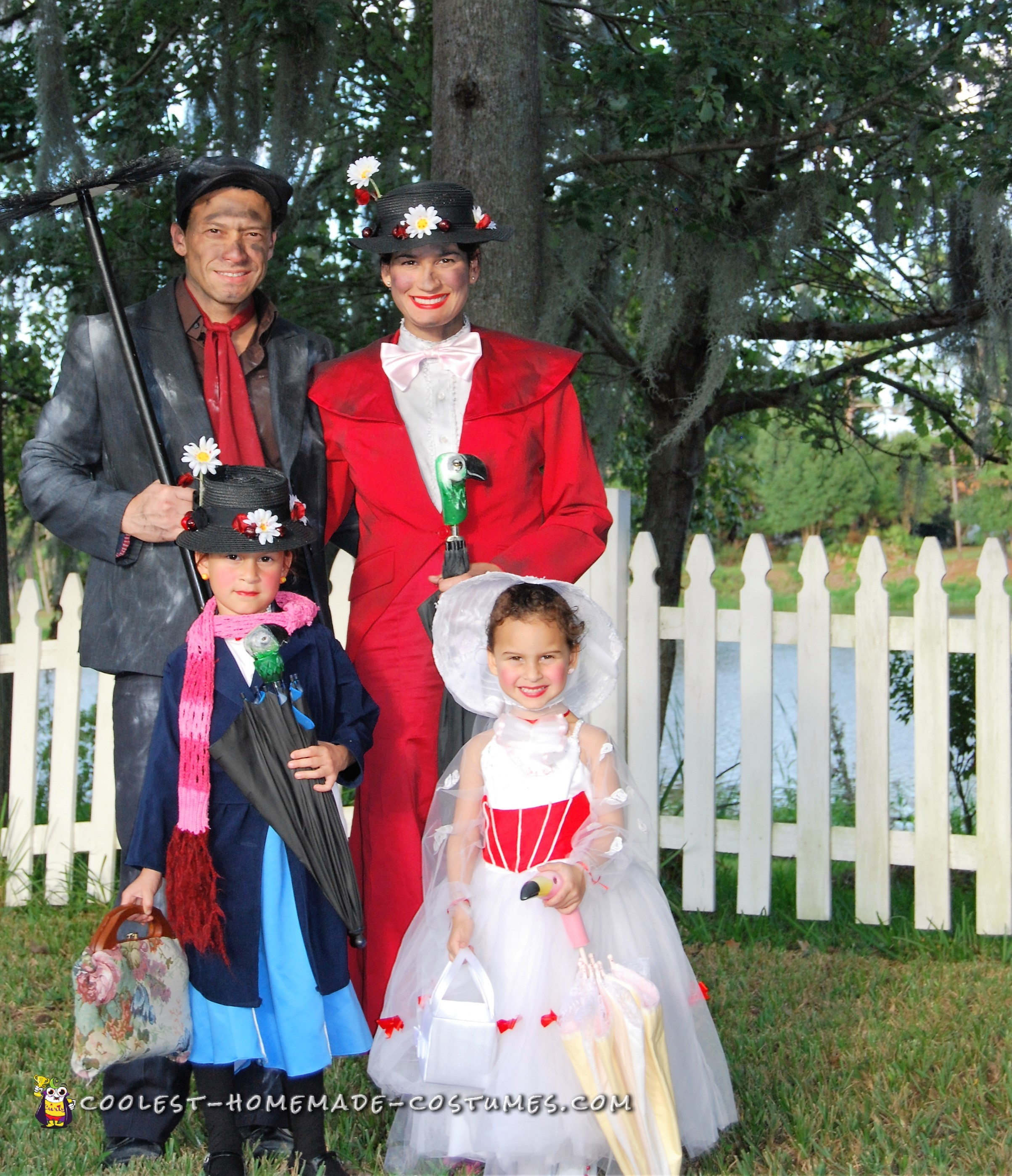 The Phases of Mary Poppins - A Family Costume