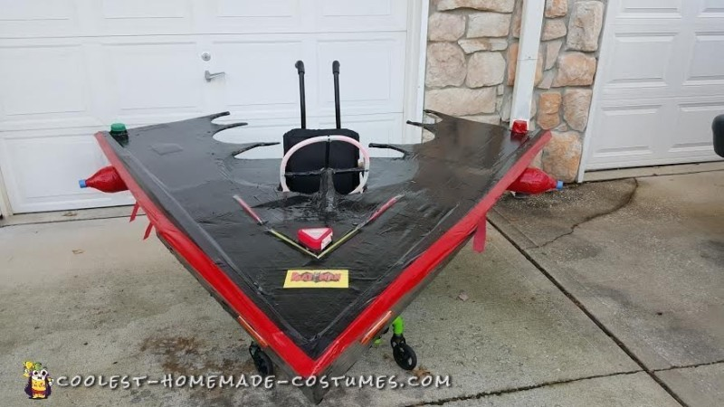 Rocket Batplane Wheelchair Costume