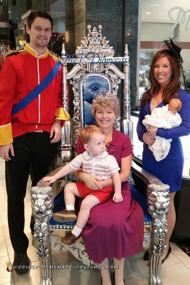 The Royal Family Costumes