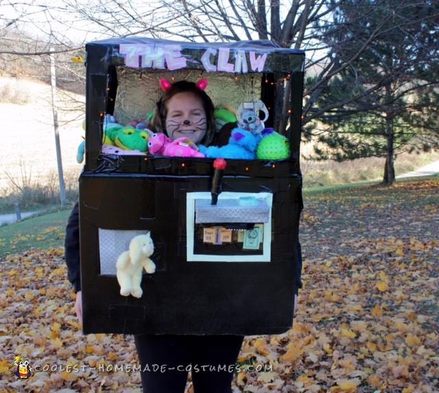 The Stove Box Claw Machine Costume