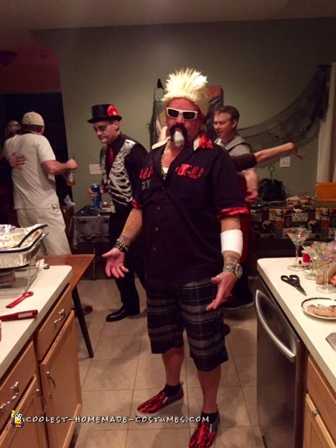 Cool Guy Fieri Costume
