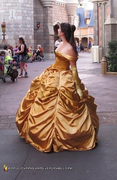 Elaborate Belle Gown - Be a Beauty, Sew Like a Beast