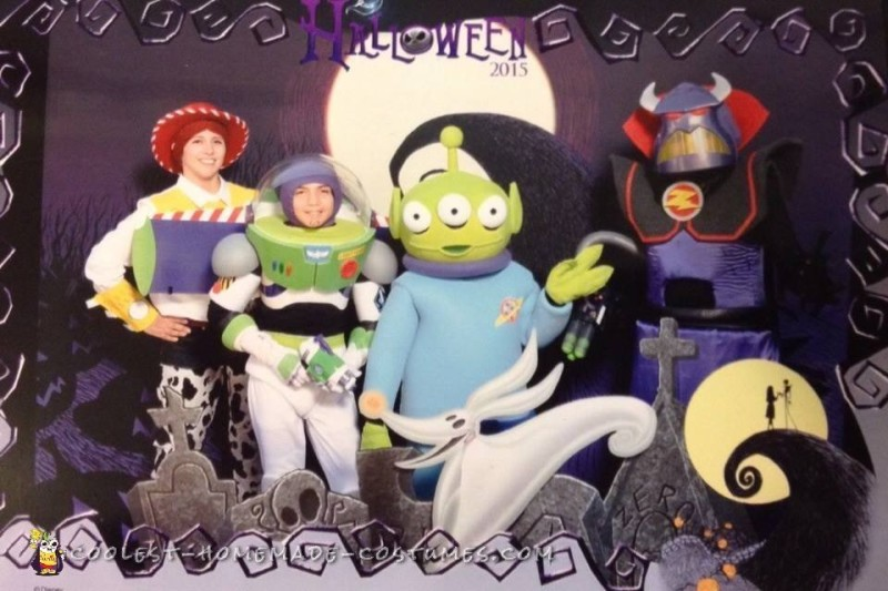 To Infinity and Beyond Family Costumes - 1