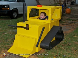 Toddler's Construction Worker and Digger Costume
